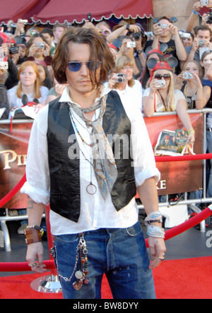 PIRATES OF THE CARIBBEAN: AT WORLD'S END Premiere - Stock Photo