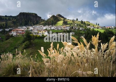 Salinas de Guaranda, Ecuador. The center of thriving cooperative industries. - Stock Photo