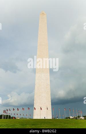 Washington monument, Washington DC, USA - Stock Photo