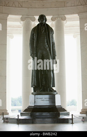 Jefferson memorial, Washington DC, USA - Stock Photo