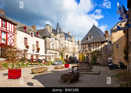 Rochefort en Terre, Morbihan, Brittany, France, Europe - Stock Photo