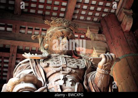 Daibutsuden (Great Buddha hall) (1705-1709), Todai-ji, Nara, Japan - Stock Photo