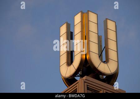 Dortmunder Symbol U , Ruhr Area, Germany - Stock Photo