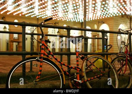 Torino, Luci d'Artista 2010/2011. - Stock Photo
