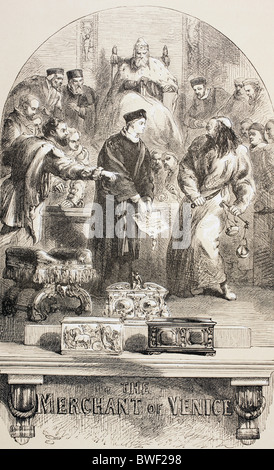 an analysis of shylocks trial in the merchant of venice by william shakespeare Antonio, a leading merchant of venice, is a wealthy, respected, and popular man  in the court of justice, presided over by the duke of venice, shylock faces his.