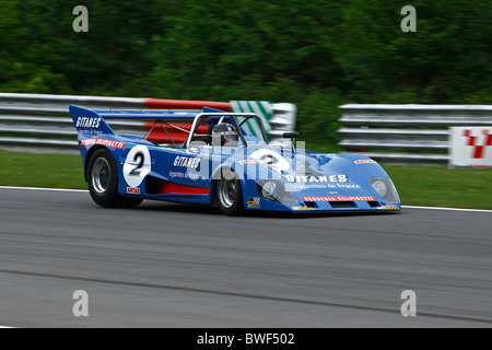 Leo Voyazides driving a Lola T280 At Brands Hatch Masters Historic Festival 2010 - Stock Photo
