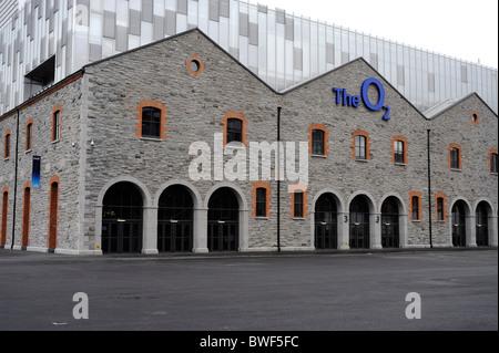 The O2 concert Hall,Docklands,North Wall Quay, R801, Ringsend, Dublin, County Dublin, Ireland - Stock Photo