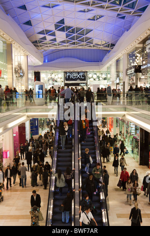 Westfield Shopping Centre - Shepherd's Bush - London - Stock Photo
