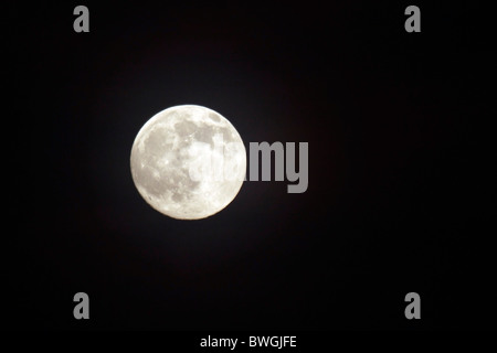 Full moon. - Stock Photo