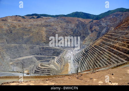 Bingham Kennecott Copper Mine - Stock Photo