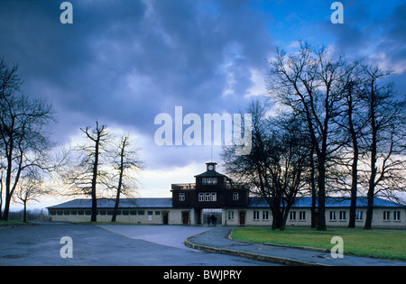 Europe, Germany, Thuringia, Buchenwald concentration camp near Weimar - Stock Photo
