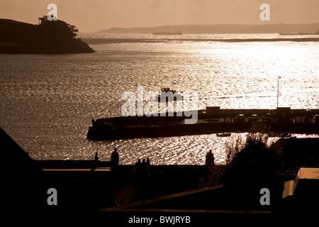 St Mawes, harbour, Cornwall, England, United Kingdom. - Stock Photo