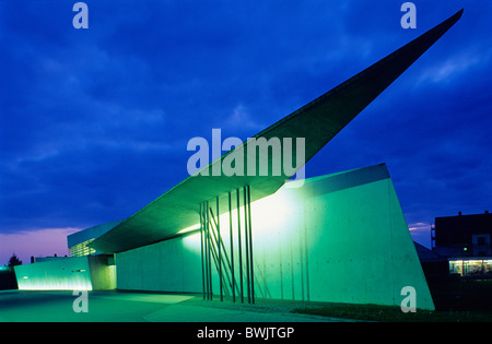 Europe, Germany, Baden-Wuerttemberg, Weil am Rhein, Vitra Firestation - Stock Photo