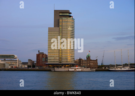 Wilhelminapier, Rotterdam, South Holland, Holland, Netherlands, Europe - Stock Photo