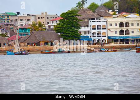 Lamu Town, Lamu Island, Kenya - Stock Photo