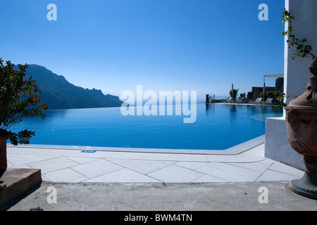 Ravello Caruso Luxury Hotel Pool Amalfi Coast Sun Luxury Charm Stock Photo Royalty Free Image