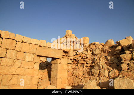Israel, Tamar stronghold in the Negev - Stock Photo