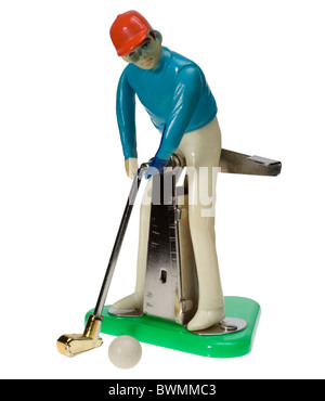 Carpet Golf child's game - Stock Photo