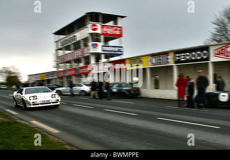 Lotus Elite at Reims historic old F1 circuit Gueux in France - Stock Photo