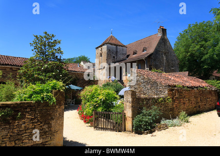 The holiday rental property Malbernat in the Lot region of France - Stock Photo