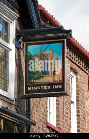 The Minster Inn York - Stock Photo