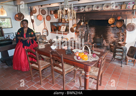 A Female Guide In Period Costume At The Hermitage Mansion Home Of Stock Photo Royalty Free
