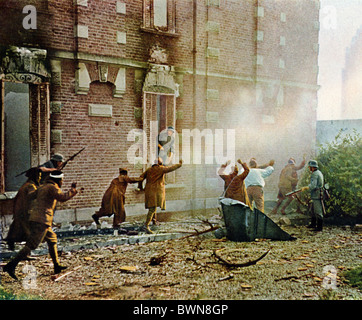 Invasion of France June 1940 history historical historic German French troops soldiers Wehrmacht German Emp - Stock Photo