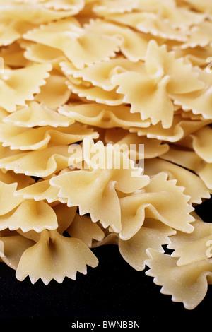 Farfalle Italian Pasta Shapes - Stock Photo