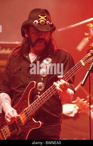 Motorhead performing at the Brixton Academy - Stock Photo