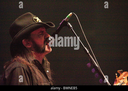 Motorhead performing at the Brixton Academy - Stock Photo