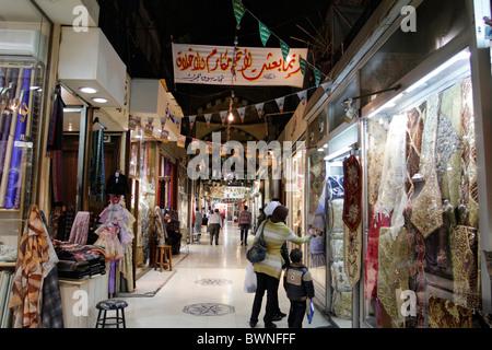 Hamidiyya market in Damascus, Syria - Stock Photo