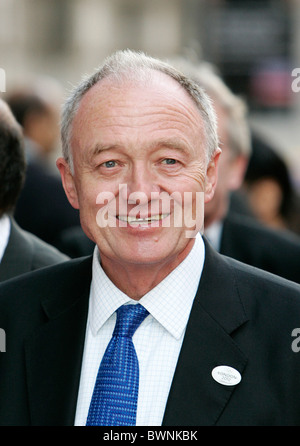 Mayor of London, Ken Livingston attends the Charity Premiere of 'Mystic India' at the Science Museum Imax cinema - Stock Photo