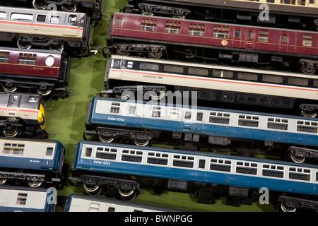 Toy Trains, Collectors Fair, Railway Modelling & Railwayana, Manchester, UK - Stock Photo