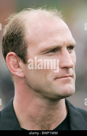 Rugby player Laurence Dallaglio attends the third day of Cheltenham Races - Stock Photo