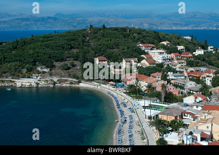 Kassiopi, Corfu, Greece - Stock Photo