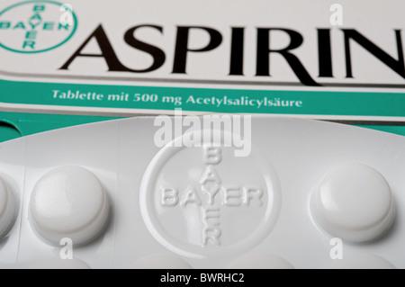 Bayer Aspirin Pills Stock Photo 41425676 Alamy