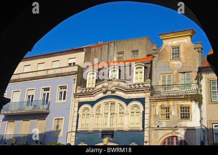 Old town, Aveiro, Beiras region, Portugal - Stock Photo