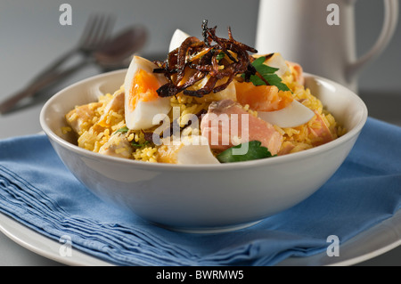 Kedgeree stock photo royalty free image 29371112 alamy for Rice dishes with fish