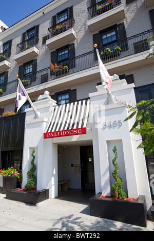 Palihouse Holloway Hotel, West Hollywood, Los Angeles, California, USA - Stock Photo