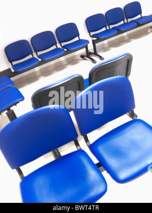Chairs in a waiting area - Stock Photo