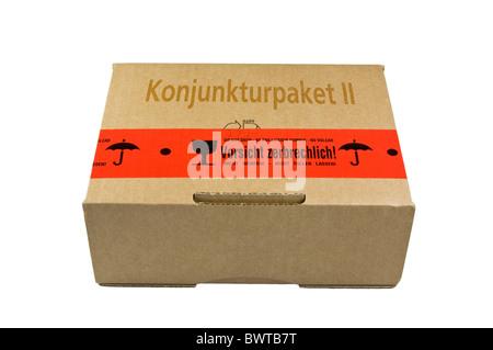 Package Konjunkturpaket II - Stock Photo