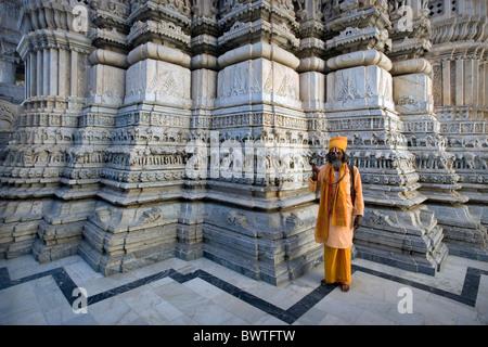 India State of Rajasthan Udaipur city Jagdish Temple Asia travel January 2008 hindu hinduism hinduist religi - Stock Photo