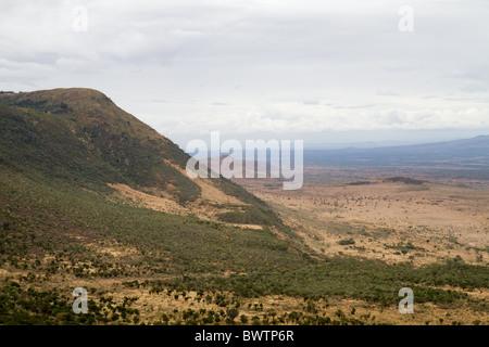 Great Rift Valley in Kenya, Africa - Stock Photo
