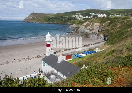 Isle of Man Port Erin coast sand sandsea sea britain british country scenic scenics scenery europe european isle - Stock Photo