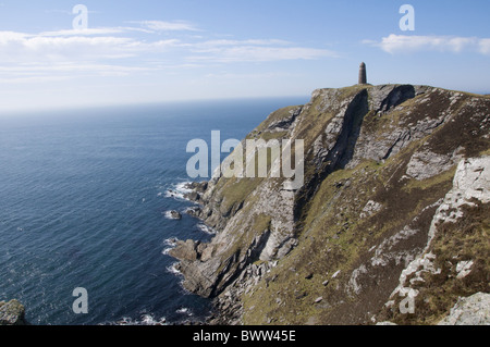 American Monument Islay Mull of Oa uk britain british scottish scotland islay island islands isle isles country - Stock Photo