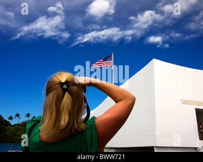 USS Arizona Memorial - Stock Photo