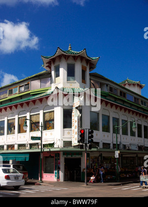 Chinatown, Honolulu - Stock Photo