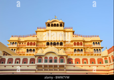 Chandra Mahal, City Palace, Jaipur. - Stock Photo
