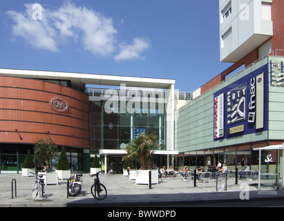Centre coty city centre shopping mall le havre france for 3d architecture le havre
