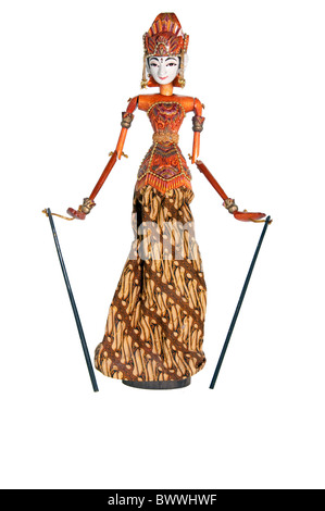 The picture of cute Puppet from Bali - Stock Photo